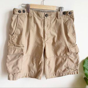 Polo by Ralph Lauren Cargo Shorts Khaki Cotton 34